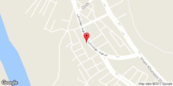 موقعیت بیمه سینا نمایندگی ابراهیمی روی نقشه