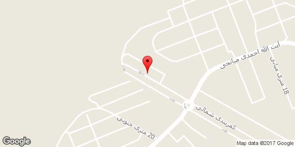 موقعیت دفتر وکالت غلامرضا مسلمی وکیل پایه یک دادگستری روی نقشه