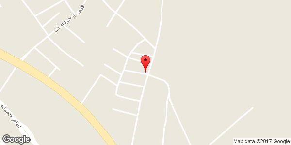 موقعیت فروشگاه رحمانی روی نقشه
