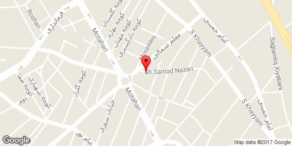 موقعیت فلافل لبنانی تک شعبه ۲ روی نقشه