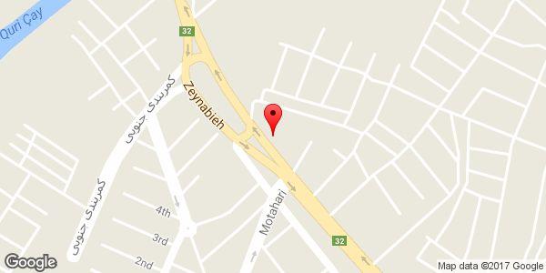 موقعیت مصالح ساختمانی حاج یحیی سلیمانی روی نقشه