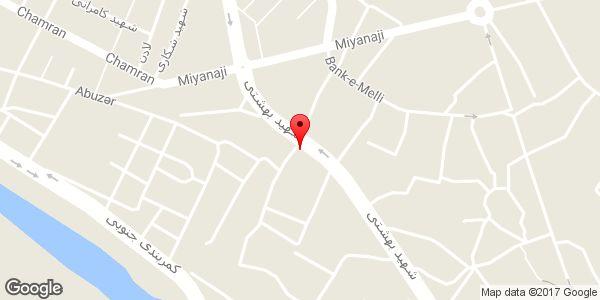 موقعیت ساندویچی روی نقشه