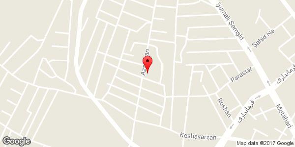 موقعیت مسجد موسی بن جعفر (ع) روی نقشه