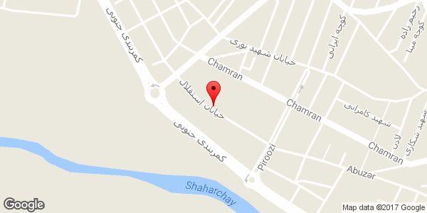 موقعیت پلاستیک فروشی کندوان روی نقشه