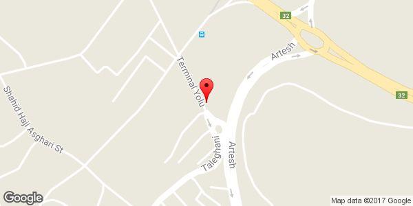 موقعیت تعمیرگاه لوازم خانگی ابراهیمی روی نقشه