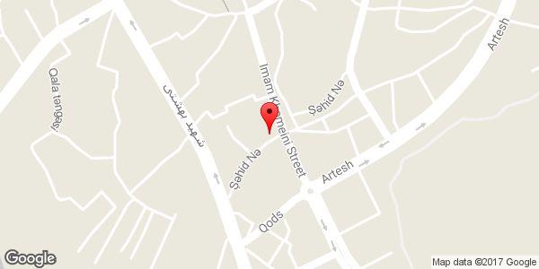 موقعیت فروشگاه موتور سیکلت ساوین (شکوفی) روی نقشه