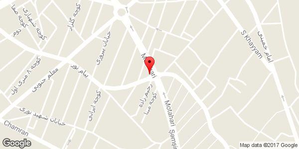 موقعیت پلاسکو گوزلی روی نقشه