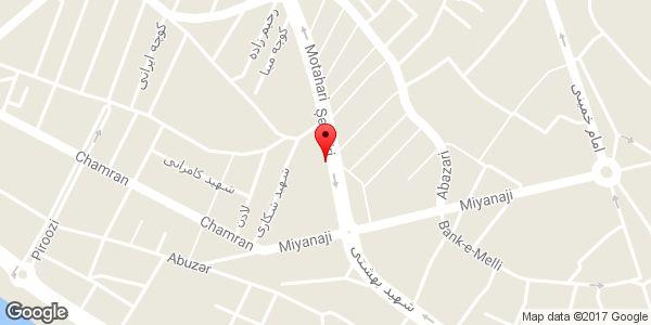 موقعیت شیشه بری احمد روی نقشه