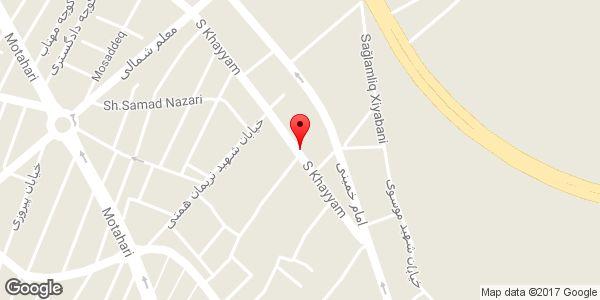 موقعیت خرید و فروش و تعمیرات کپی، فکس و پرینتر کپی ایران روی نقشه