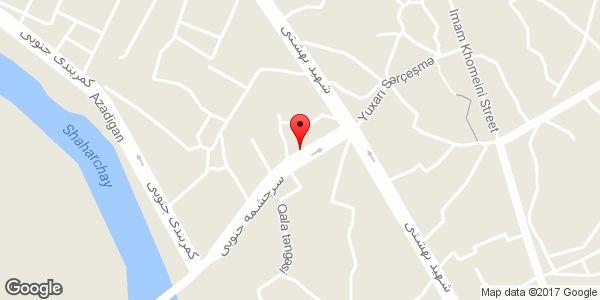 موقعیت سوپر مارکت اوچ تپه روی نقشه