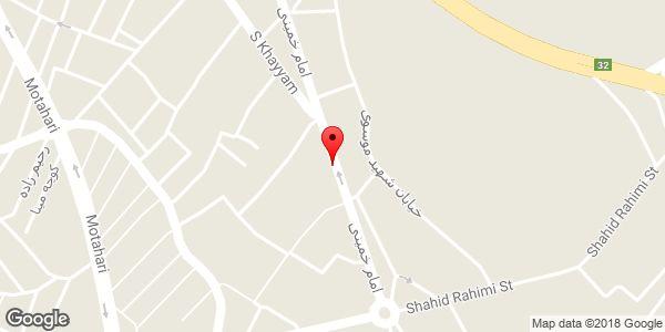 موقعیت شهر جوراب بهمنش روی نقشه