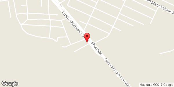 موقعیت نمایندگی ماشین آلات صنعتی تراکتور سازی تبریز روی نقشه
