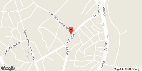 موقعیت فروشگاه مقبولی روی نقشه