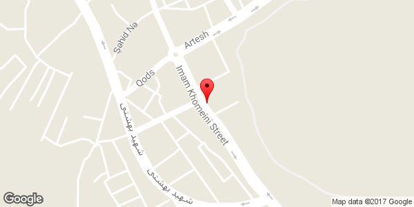 موقعیت اتو گالری شاهین روی نقشه