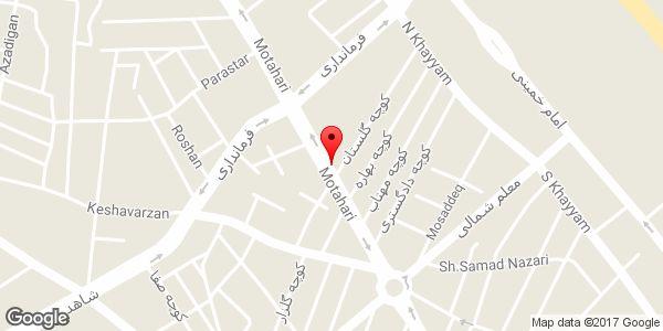 موقعیت دیزی سنگی و رستوران سنتی فرحزاد روی نقشه