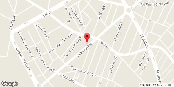 موقعیت کابینت سازی محمدزاده روی نقشه
