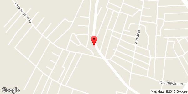 موقعیت آذر الکتریک روی نقشه