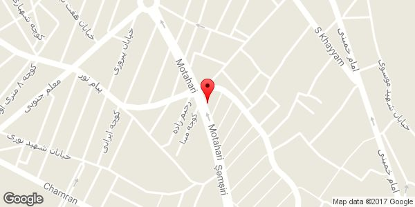 موقعیت آرایشگاه گلچین روی نقشه