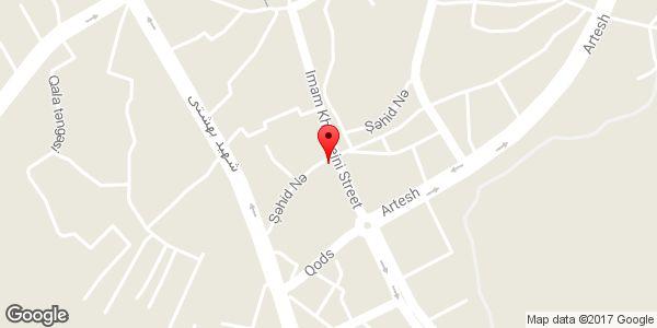 موقعیت اتو گالری آرابا روی نقشه