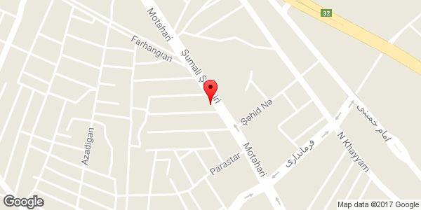 موقعیت دبیرستان غیر دولتی مهر آزما روی نقشه