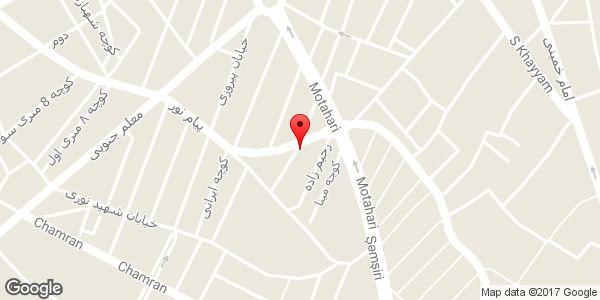 موقعیت مانتو سرای سعید روی نقشه