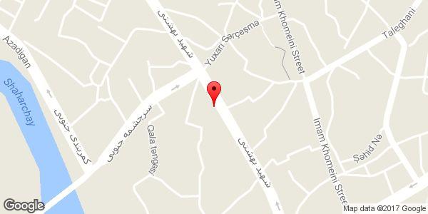 موقعیت دفتر نمایندگی روزنامه امین روی نقشه