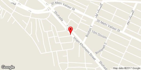 موقعیت کارگاه جوشکاری یعقوبی روی نقشه