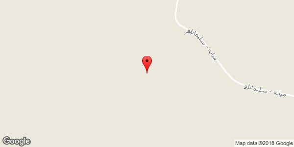 موقعیت دره باقیرساخ درسی روی نقشه