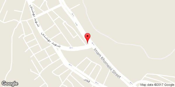 موقعیت کبابی حسینی روی نقشه