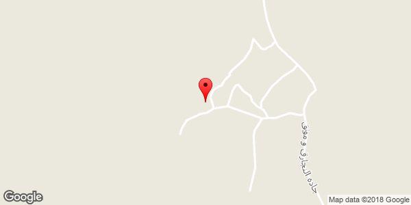 موقعیت مسجد بنی هاشم روی نقشه