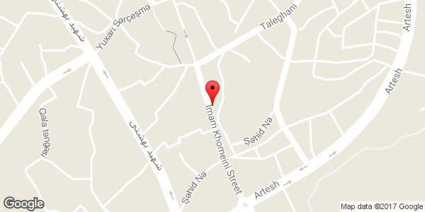 موقعیت مسجد شیرعلی روی نقشه