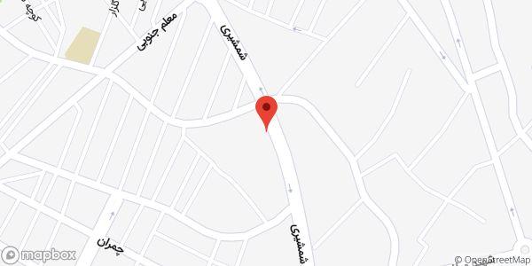 موقعیت موبایل مرکزی میدانی روی نقشه