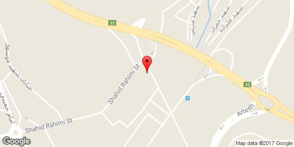 موقعیت ساندویچی و کبابی روی نقشه