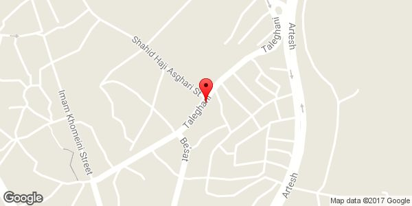 موقعیت آرایشگاه عرفان روی نقشه