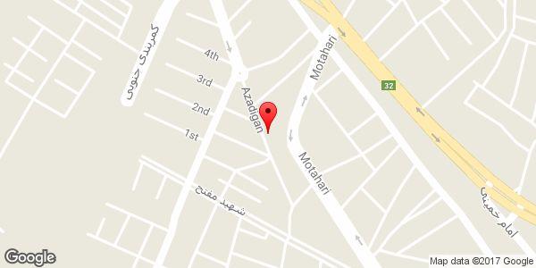 موقعیت لباس فروشی ماراش روی نقشه