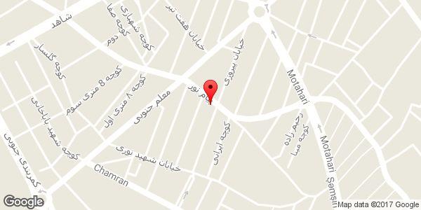 موقعیت مشاور املاک شهر روی نقشه