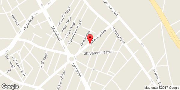 موقعیت فروشگاه لباس استار روی نقشه
