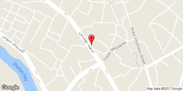 موقعیت لوله کشی بایرام جعفری روی نقشه
