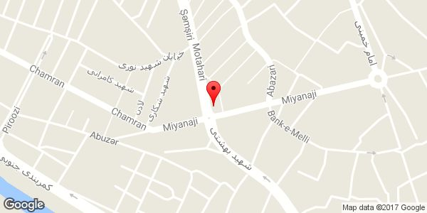 موقعیت فروشگاه لوازم خانگی روی نقشه