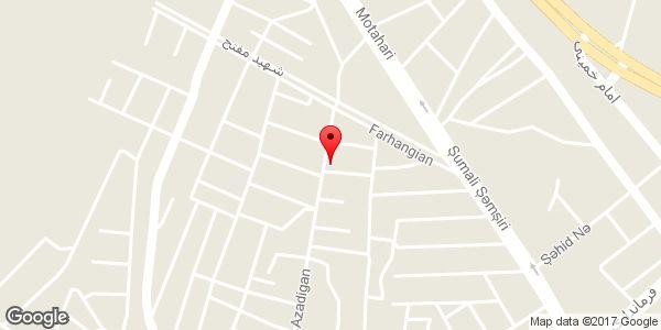 موقعیت سالن زیبایی ماتریکا روی نقشه