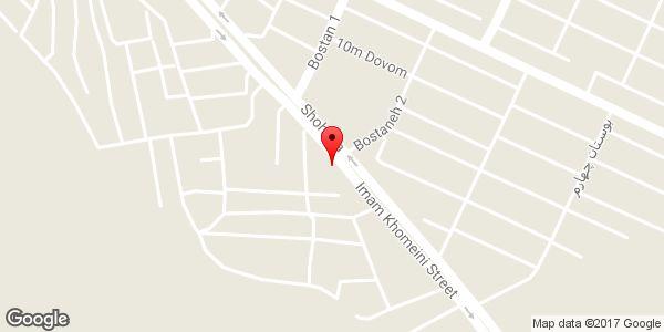 موقعیت اتو سرویس ابراهیم پور روی نقشه
