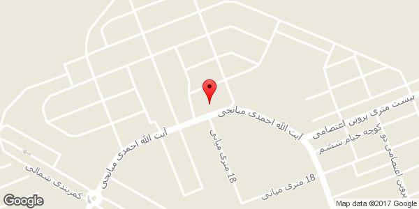 موقعیت املاک موسوی روی نقشه