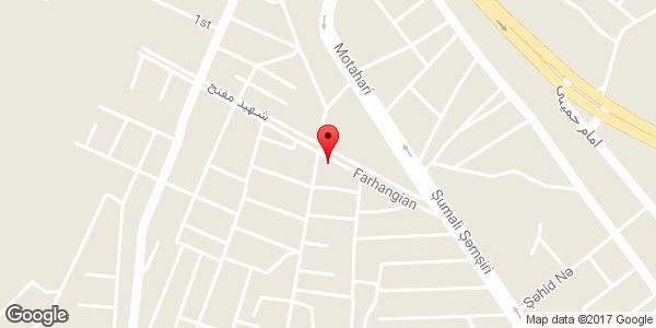 موقعیت مشاور املاک ارم روی نقشه