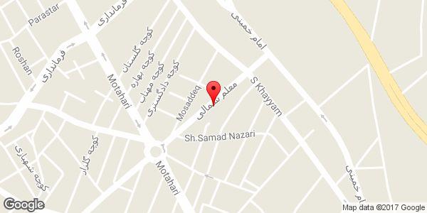 موقعیت فروشگاه موبایل سیبچه - نمایندگی ایرانسل روی نقشه