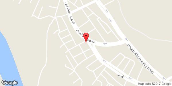 موقعیت لبنیات فروشی روی نقشه