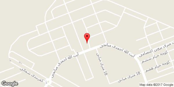 موقعیت کابینت سازی سعید روی نقشه