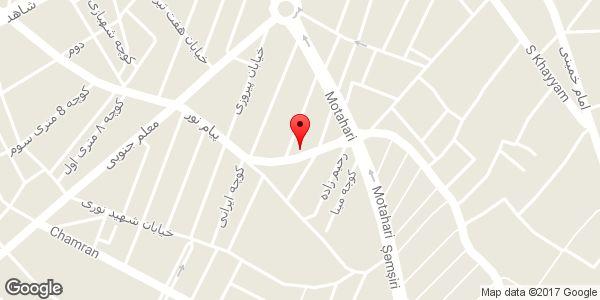 موقعیت ارزانسرای لبنیات و خواروبار فروشی روی نقشه