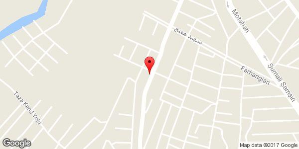 موقعیت سوپر مارکت صدرا روی نقشه