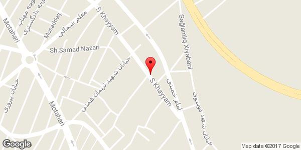 موقعیت خدمات فنی مسعود روی نقشه