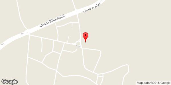 موقعیت مسجد ملک محمد روی نقشه